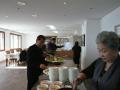 黙想の家の食堂(朝食)